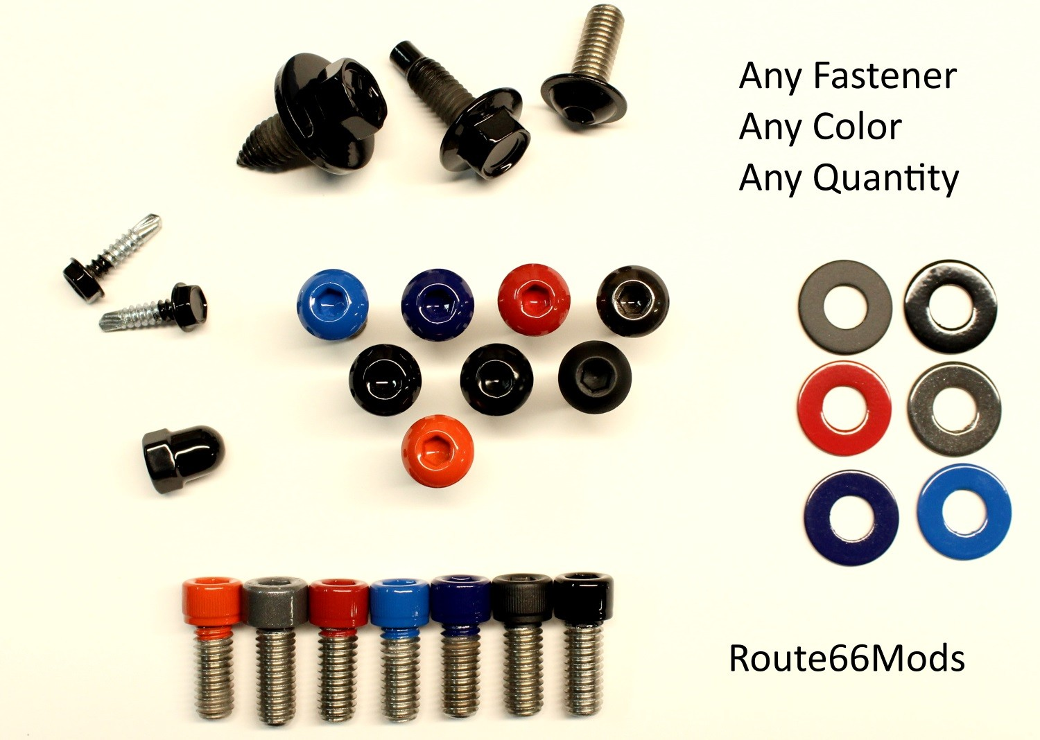 Powder Coated Fastners